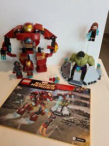 Lego Marvel 76031 - The Hulk Buster Smash + Instructions