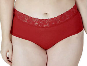 COSABELLA Amore Adore Lace Hotpant Mystic Red Boyshort Panty Womens Plus 1X  3X