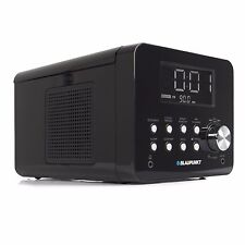 BLAUPUNKT CDR 10 BK CD Uhrenradio, Radiowecker, Küchenradio, UKW, AMS, CD-Player