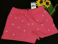 Polo Ralph Lauren  Girl Pony red Shorts size 8-10 MED New nwt anchor white