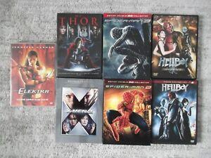 Lot de 5 DVD +2 Coffret Marvel