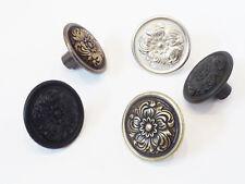 Möbelgriffe Möbelknöpfe Knauf Messing Silber Bronze Schwarz Anthrazit Antik V896