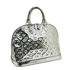 AUTHENTIC LOUIS VUITTON ALMA GM HAND BAG PURSE MONOGRAM MIROIR M95273 VTG B28932