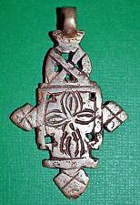 Cross Pendant Ethiopia, Africa Handmade Ethiopian Coptic Orthodox Christian