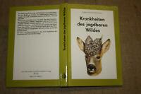 Fachbuch Jagd, Wild, Krankheiten des jagdbaren Wildes, Jäger, DDR 1987