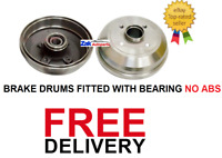 Vauxhall Corsa C 00-06 1.0 1.2 1.4 1.7 Rear 2  Brake Drums Fitted Bearing NO ABS