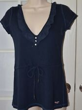 Hollister V Neck Top Size Small