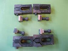 """4 Stück Tiefspannbacken """"Bulle"""" AMF 6490/12 Spannbacken Flachspanne T-Nut"""