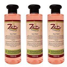 Tóner de cara orgánica Pack 3 profundo limpia lejos capas de suciedad de la piel