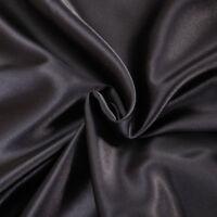 1200 1000 TC All US Size 4pc Sheet Set/3pc Duvet Set in Black Super Silk Bedding