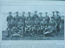 1915 OFFICERS OF 80TH BRIGADE ROYAL FIELD ARTILLERY ALL NAMED WWI WW1