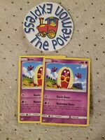 Pokémon TCG 2x Jynx #68/181 Tag Team Up Mint Psychic Type English Uncommon