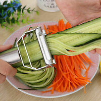 Stainless Steel Vegetable Fruit Graters Slicer Cutter Kitchen Gadgets Tool New