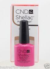 CND Shellac GEL 1 Color (shades Part 1) Base & Top Nourish/remover 10 Foils Hot Pop Pink