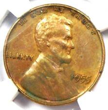 1955 Doubled Die Obverse Lincoln Cent 1C DDO - Certified NGC UNC Detail (MS)