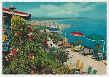 Postcard, Italy, Riviera Adriatica, Gardens and General View