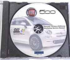 DVD MANUALE OFFICINA FIAT NUOVA 500 CINQUECENTO 1.2 8V-1.3 MULTIJET-1.4 16V