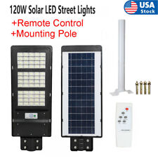 New listing 990000Lm Solar Street Light Led Outdoor Flood Lights Dusk-to-Dawn Road Security