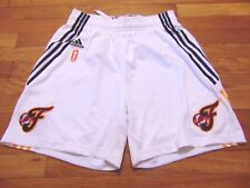 ADIDAS AUTHENTIC WNBA INDIANA FEVER REVOLUTION 30 GAME SHORTS SIZE M nba