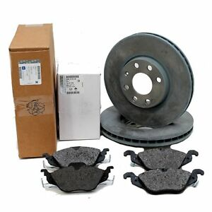 Original Opel GM Brake Kit Brake Discs + Brake Pads Astra G 4 Hole 1515000