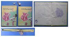 Diario Segreto vintage Red Girl con lucchetto scoiattolo farfalla love mashimaro