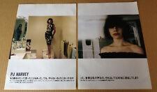 2004 PJ Harvey 4pg 2 photo JAPAN magazine article / press clipping cutting pj6r