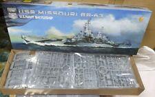 USS MISSOURI BB-63 Battleship VERY FIRE 1/700 plastic model kit VF700909
