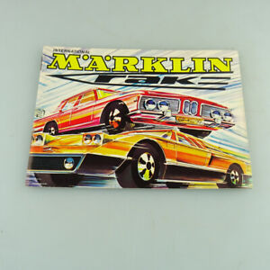 Märklin Rak Katalog 15x 10,5cm 28 Seiten von 1971 TOP !!! #172