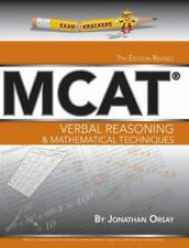 NEW - Verbal Reasoning & Mathematical Techniques (Examkrackers MCAT)