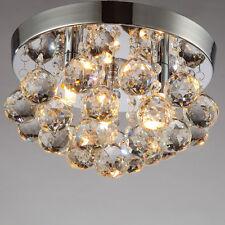 Kristall Deckenlampe Warmweiß Modern Wandlampe Deckenleuchte für 3* G9 Lampe