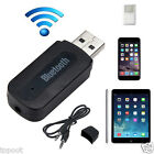 USB Bluetooth 3.5mm Stereo Audio Music Receiver Adapter for iPhone Speaker MP3