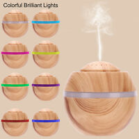 LED Essential Oil Diffuser Ultrasonic Aroma Humidifier Aromatherapy Air Purifier