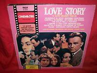 LOVE STORY e altri celebri temi LP 1980 MINT- ITALY Unique CoVeR Liz Taylor
