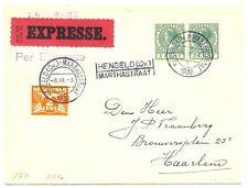 NEDERLAND 1932    EXPRESSE DRUKWERK   =  HENGELO (Ov) MARTHASTRAAT =  PRACHT