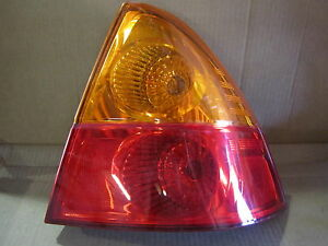 SUZUKI AERIO 4 DOOR 02 03 04 05 06 07 2002-2007 TAIL LIGHT PASSENGER RH OEM