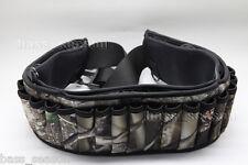 Shotgun Shell Belt 27 Round Neoprene Camo Shotshell Belt Hunting bag