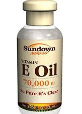Sundown Naturals Vitamin E Oil 2.5 Oz 70000 IU