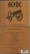 CD - AC/DC : FOR THOSE ABOUT TO ROCK ( COMME NEUF - LIKE NEW ) / DIGIPACK