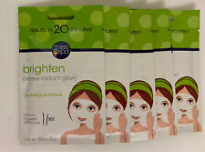 Miss Spa Brighten Facial Mask Renew Radiant Glow 5 Pack