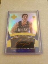 2012-13 Jimmer Fredette Panini Innovation Rookie Gold Autograph # 3/25 Auto