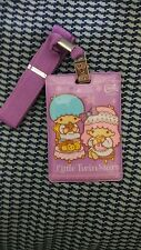 Sanrio Little Twin Stars Card Holder Travel Name Cards with adjustable string