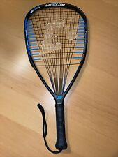 E-Force Takeover 160 Quadraform Racquetball 3 5/8 Grip Racquet Demo EUC!