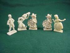 1950's VINTAGE VAN BRODE~MILLS CEREAL PRIZE~ 5 'doll' figurines of the world