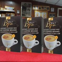 6X B7 Coffee Lingzhi Cordyceps Grape Seed Ginkgo Leave Healthy Control Sugar