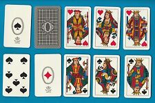 RARE Italian Playing Cards ITALY Dal Negro Piemontesi #93.  pretty cards. #132