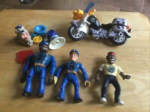 Vintage1989 Police Academy Action Figures Lot