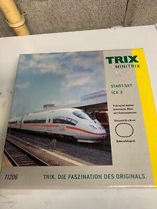 Trix MINITRIX STARTER SET ICE 3  11206