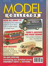 MODEL COLLECTOR Magazine August 1996 London Buses EFE Dinky Corgi Minic Diorama