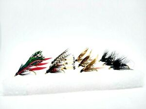 12 Classic Wet Flies II Fly Fishing Kit Set River Trout Grayling Fly Selection