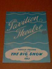 Tommy Cooper/Millicent Martin/Kaye Sisters 1963 Pavilion, Bournemouth Programme